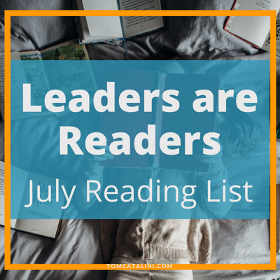 Readers are Leaders | July book recommendations reading list