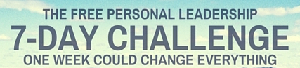 7-Day Personal Leadership Challenge