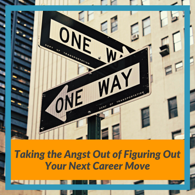 figuring out your next career move