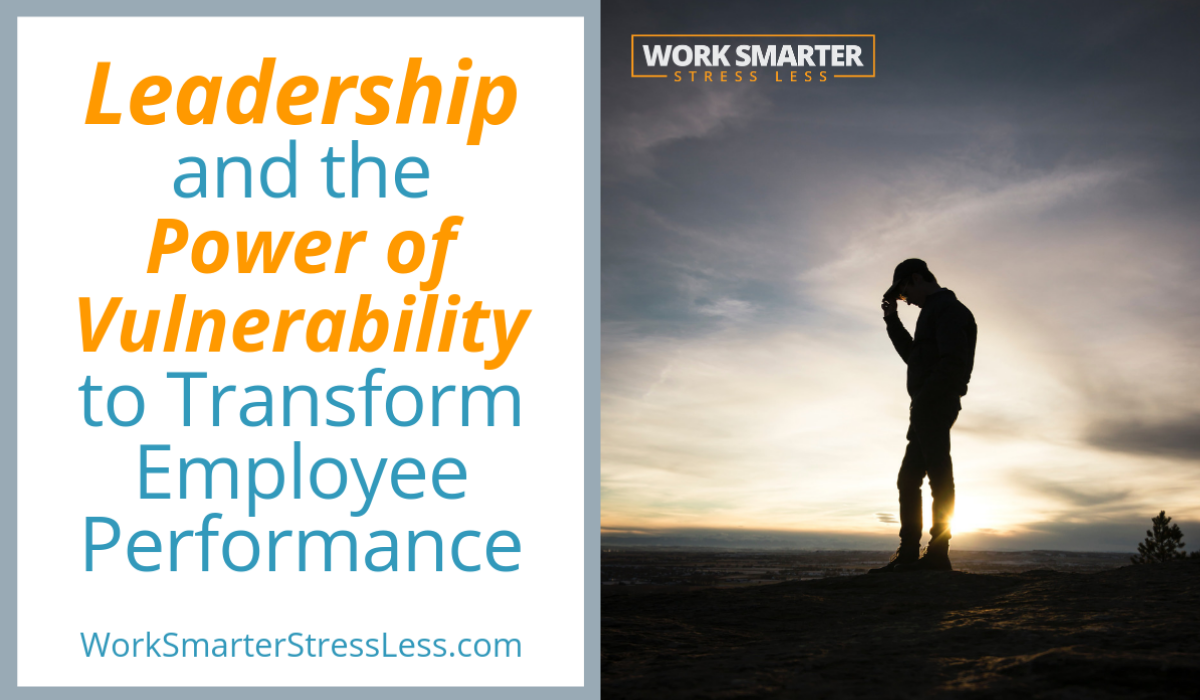 leadership and vulnerabililty transform employee performance